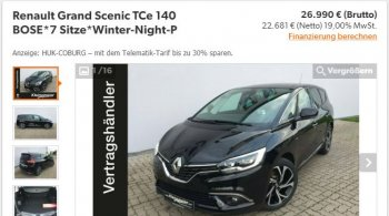 Renault Grand Scenic TCe 140