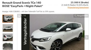 Renault Grand Scenic TCe 140 Easy Park